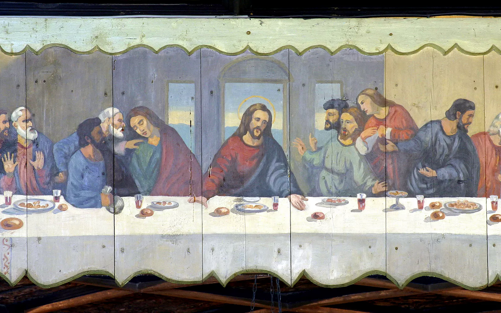 Judas Refuses To Tip At Last Supper