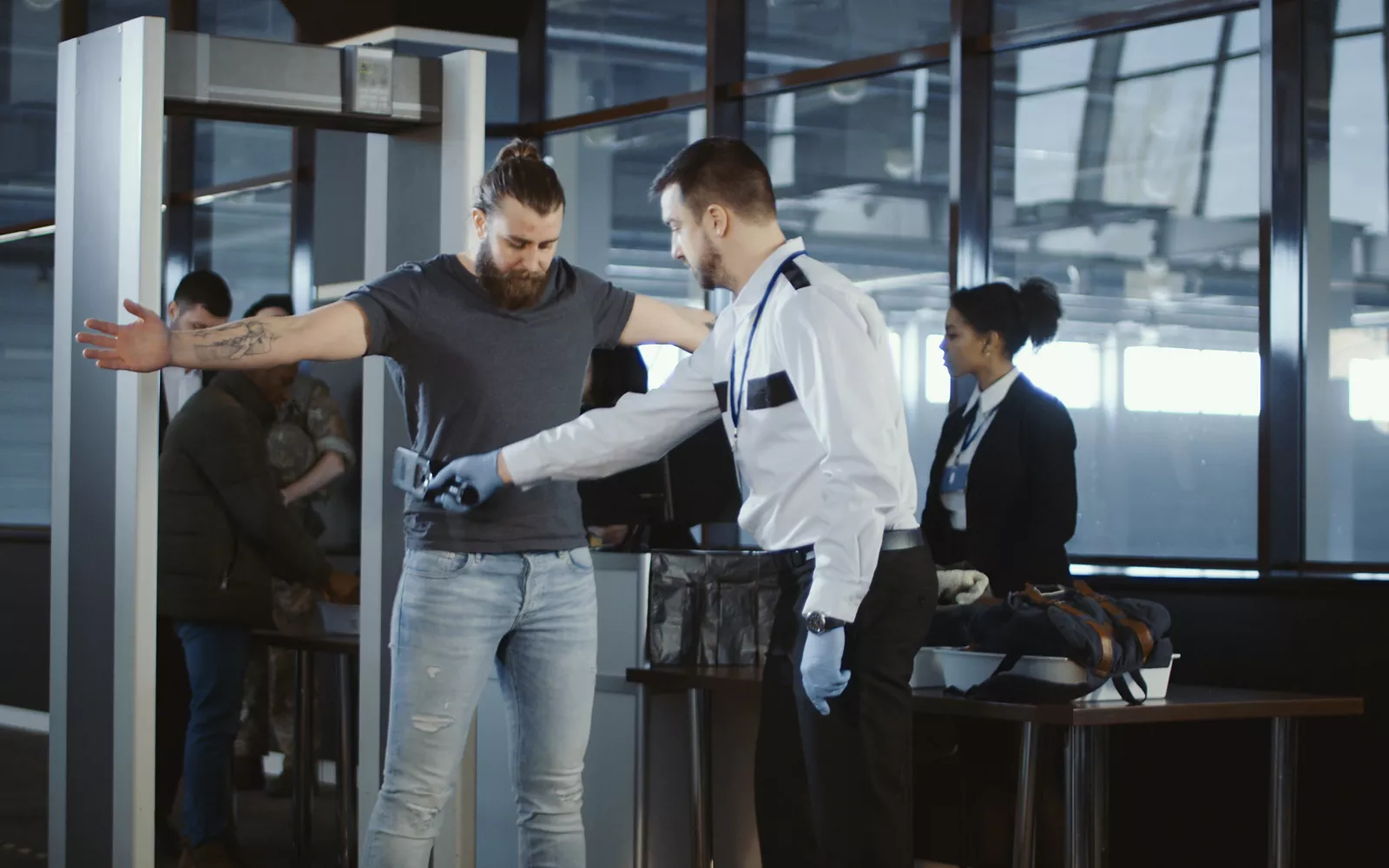 Airport Cook Pissed TSA Goes Back To Pat-Downs